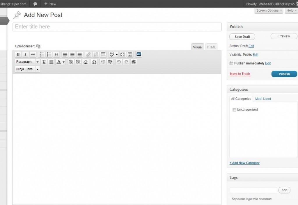 use wordpress